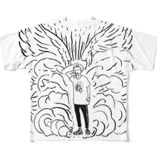 堕天使 フルグラフィックTシャツ