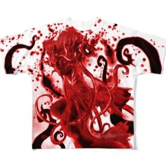 クティーラ(赤) Full graphic T-shirts