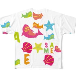 Sameen!FT フルグラフィックTシャツ