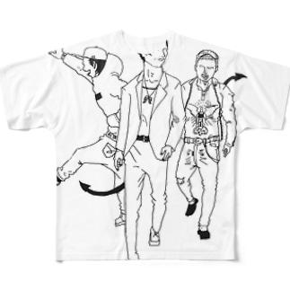 デーモンズデート Full graphic T-shirts