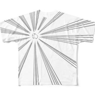 あたまのわるいひと(あぴーる)  Full graphic T-shirts