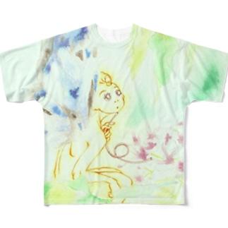 Chinaberry〜栴檀〜 Full graphic T-shirts