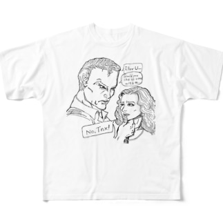 No.Tnx! Full graphic T-shirts