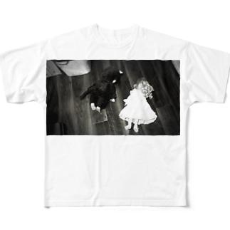 サスペンス フルグラフィックTシャツ