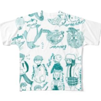 おりゃ〜 Full graphic T-shirts