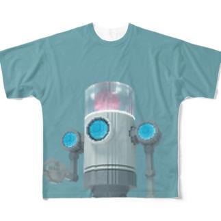 VoxelArt-ROBOT- Full graphic T-shirts