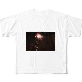 火華 Full graphic T-shirts