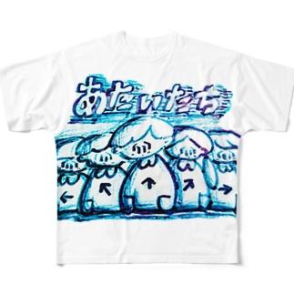 あたいたち 2 Full graphic T-shirts