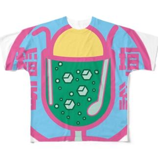 パ紋No.3299 稲垣  フルグラフィックTシャツ