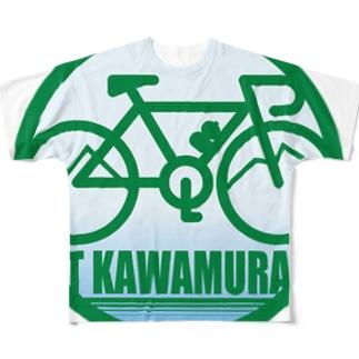 パ紋No.3300 T KAWAMURA フルグラフィックTシャツ