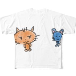 なかよし 01 Full graphic T-shirts