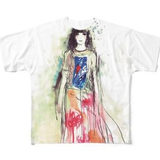 kanae Full graphic T-shirts