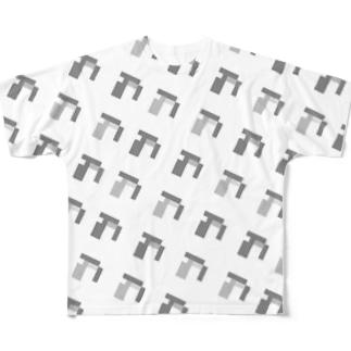 みてないの群れ Full graphic T-shirts