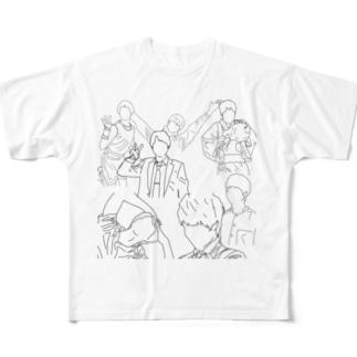 ジャニーズWEST 重岡大毅 Full graphic T-shirts