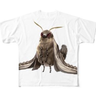 オオシモフリスズメ Full graphic T-shirts