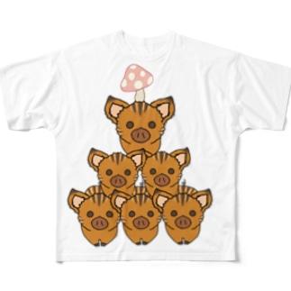 うりぼーず2019  Full graphic T-shirts