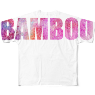 バンブータケのBAMBOO T Full graphic T-shirts