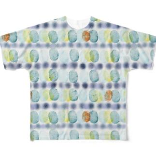 ueta1013 フルグラフィックTシャツ