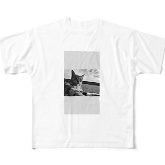 猫 Full graphic T-shirts