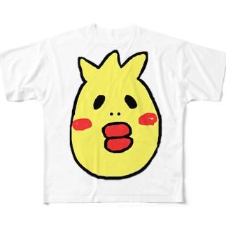 あひるんるん Full graphic T-shirts
