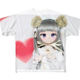 水都ちゃん様のグッズ Full graphic T-shirts