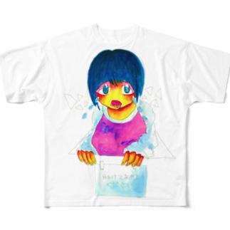 ITAI フルグラフィックTシャツ
