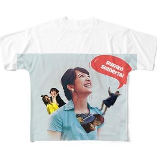 ルリ子親衛隊 Full graphic T-shirts