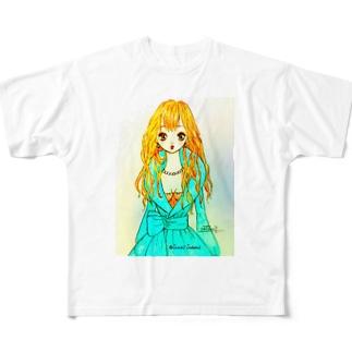 ドレスアップ Full graphic T-shirts