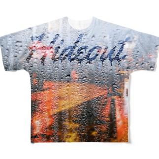 映えT-雨 Full graphic T-shirts