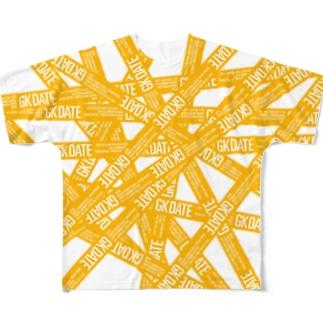 GK DATE Full graphic T-shirts