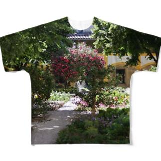 ゴッホの庭 Full graphic T-shirts