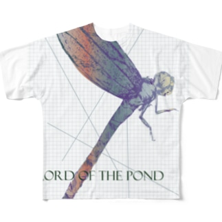 Dragonfly (Lord of the pond) Full graphic T-shirts