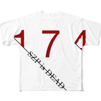 すずぴis... Full graphic T-shirts