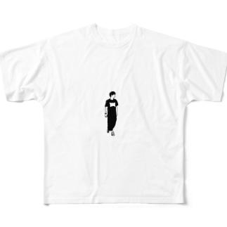 僕 Full graphic T-shirts