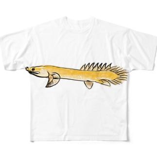 ポリプテルス Full graphic T-shirts
