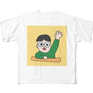 小学さんねんせい Full graphic T-shirts
