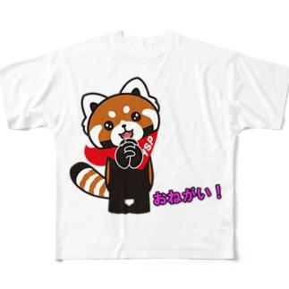 おねがい!YSパンダ Full graphic T-shirts