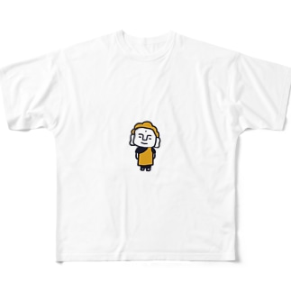 プリティブッダ Full graphic T-shirts