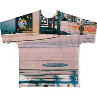 阿鼻ィ・ロード Full graphic T-shirts