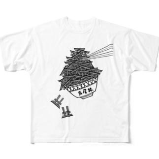 鳥居丼。 Full graphic T-shirts