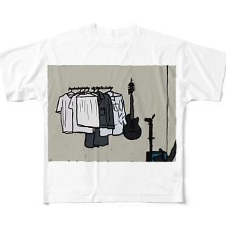 ある日の日常 Full graphic T-shirts