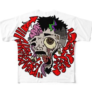 百姓一揆 Full graphic T-shirts