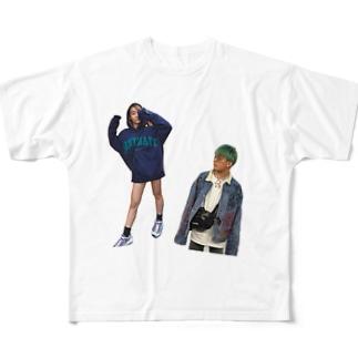 kaita&ako T-shirt Full graphic T-shirts