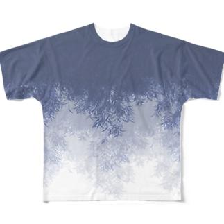 Willow (Blue gray) フルグラフィックTシャツ