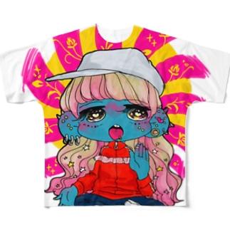 かみさま(こうごうしい) Full graphic T-shirts