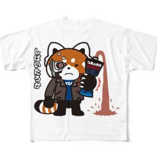 YSパンダ・サイボーグ Full graphic T-shirts