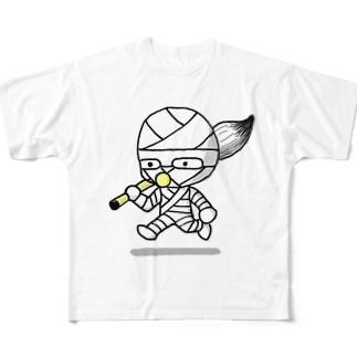 コッピーくん Full graphic T-shirts