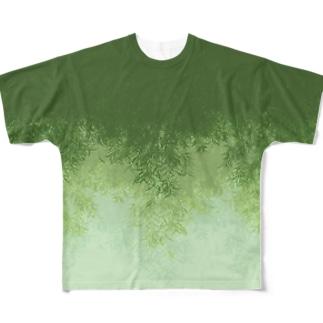 Willow (Green) フルグラフィックTシャツ