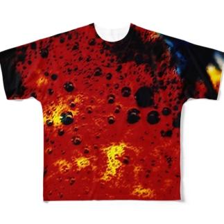 マグマ Full graphic T-shirts