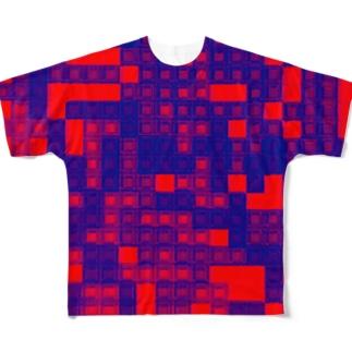 ビビット Full graphic T-shirts